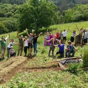 Ecoaldea AGRhumus - Agroecología Integrativa y Transición, comunidad agrícola rural ubicada en Boal, Asturias. ESPAÑA.