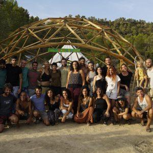 Proyecto de permacultura Boodaville, ubicado en Arens de Lledó, Teruel (Aragón).