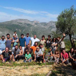 Bosque Madre, cooperativa de Agricultura Orgánica y Permacultura ubicada en Vall de Laguar, Alicante (Comunidad Valenciana).