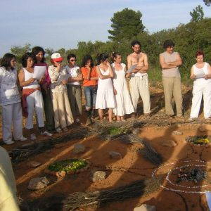 Ecoaldea Española Shakti, ubicada en Villamarchante, Valencia.