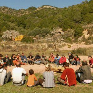 Kurkum Farm EcoVida, asociación localizada en Cretas, Teruel (Aragón).
