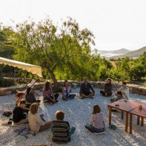 Centro de Permacultura La Loma Viva, ubicado en el Cortijo de los Cabrera en Gualchos, Granada (Andalucía)