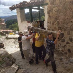 Armejún, ecoaldea española situada en Soria (Castilla y León).