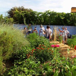 Huerta-Jardín del Boticario, centro de permacultura ubicado en Macastre, Valencia.
