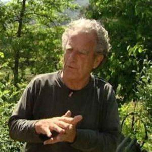 Richard Wade en el Instituto Permacultura Montsant, loalizado en Arbolí, Tarragano (Cataluña).