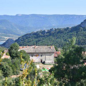 Ecoaldea Lakabe, ubicada en la localidad de Lacabe, Navarra. ESPAÑA