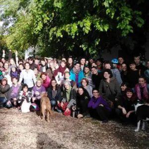 Somos Garaldea, proyecto de vida comunitario ubicado en la Finca el Batán,  Chichón (Comunidad de Madrid). ESPAÑA